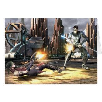 Copie d'écran : Harley contre Nightwing Carte