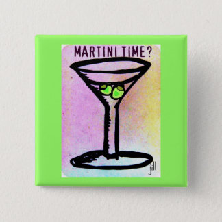 COPIE EN PASTEL de MARTINI par Jill Badge Carré 5 Cm