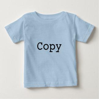 """Copie et pâte pour des jumeaux """"COPIE """" T-shirt Pour Bébé"""