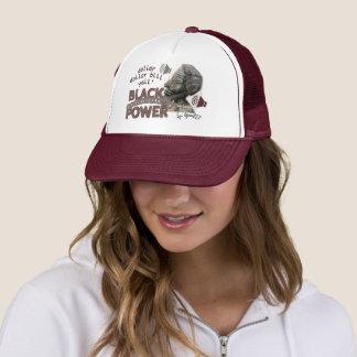 Copie marron de la communauté de noir de casquette