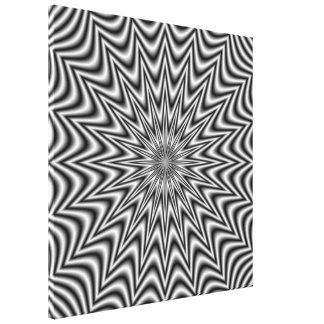 Copie monochrome de toile d'étoile