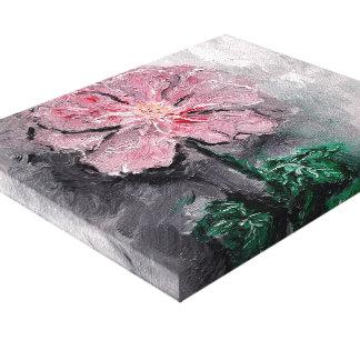 Copie ombragée de toile d'huile de pétales toiles tendues sur châssis