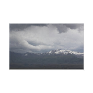 Copie orageuse de toile de ciel