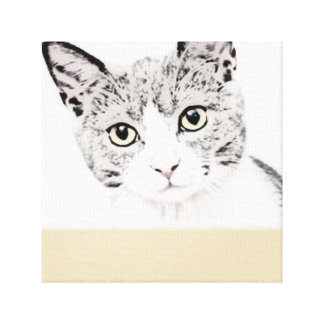 Copie unique de toile de chat
