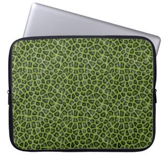 Copie verte de Lion Trousse Pour Ordinateur Portable