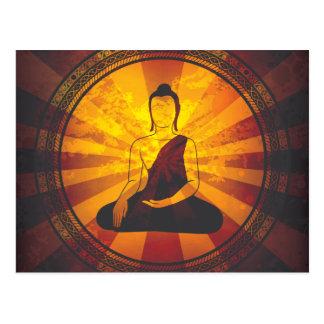 Copie vintage de Bouddha Carte Postale
