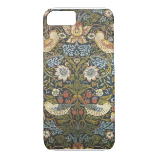 Copie vintage de tapisserie d'oiseau coque iPhone 7