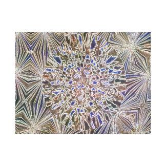 Copies de toile de mosaïques de Brown bleu