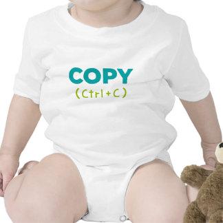 COPIEZ CTRL+C Copie et pâte T-shirts