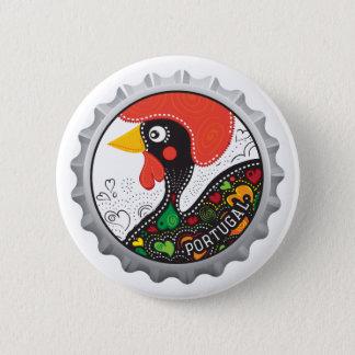 Coq célèbre du Portugal nr02 Badge Rond 5 Cm