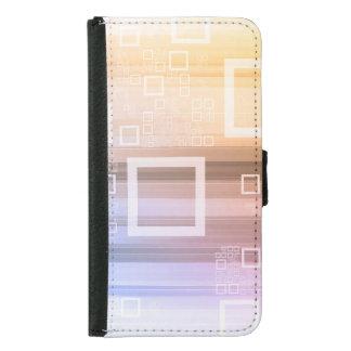 Coque Avec Portefeuille Pour Galaxy S5 Concept du trafic de train de données de données