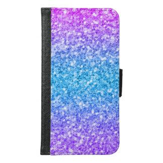 Coque Avec Portefeuille Pour Galaxy S6 Arrière - plan coloré moderne de parties
