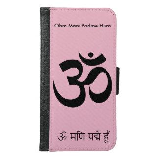 Coque Avec Portefeuille Pour Galaxy S6 Ohm Mani Padme Hum