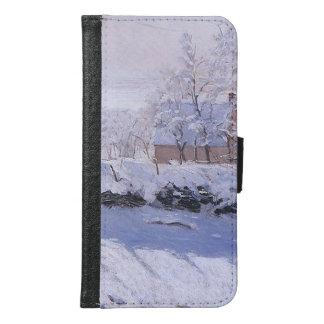 Coque Avec Portefeuille Pour Galaxy S6 Pie de Claude Monet-The
