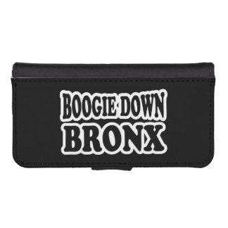 Coque Avec Portefeuille Pour iPhone 5 Boogie vers le bas Bronx, NYC