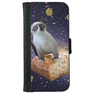 Coque Avec Portefeuille Pour iPhone 6 cake à la banane KAT