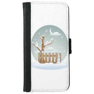 Coque Avec Portefeuille Pour iPhone 6 Cas de Noël d'Iphone 6/6s