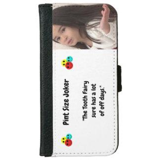 Coque Avec Portefeuille Pour iPhone 6 Joker de taille de pinte : Fée de dent et outre