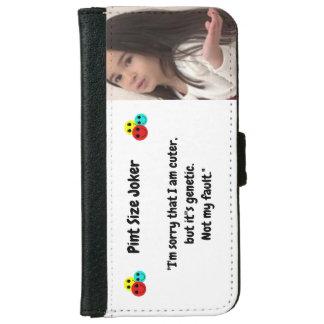 Coque Avec Portefeuille Pour iPhone 6 Joker de taille de pinte : Gentillesse génétique