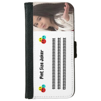 Coque Avec Portefeuille Pour iPhone 6 Joker de taille de pinte : Prenez soin de mon