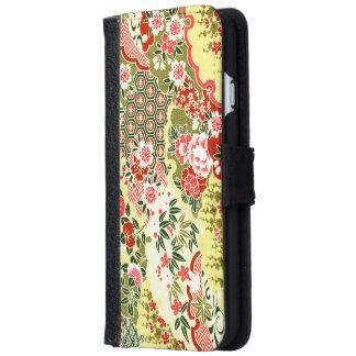 Coque Avec Portefeuille Pour iPhone 6 Motifs japonais