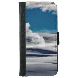 Coque Avec Portefeuille Pour iPhone 6 Parc national de Yellowstone, Etats-Unis au