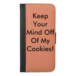 Coque Avec Portefeuille Pour iPhone 6 Plus Gardez votre esprit