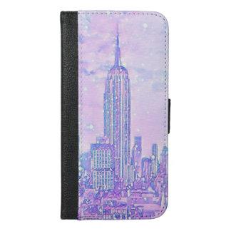 Coque Avec Portefeuille Pour iPhone 6 Plus iPhone 6/6s de la vie de ville plus la caisse de