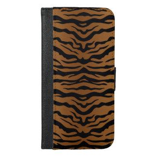 Coque Avec Portefeuille Pour iPhone 6 Plus Motif de tigre
