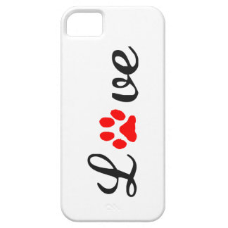 Coque Barely There iPhone 5 animaux familiers d'amour de cas de l'iPhone 5/5S