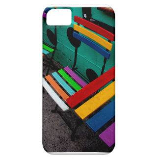 Coque Barely There iPhone 5 Café d'arc-en-ciel