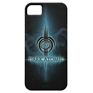 Coque Barely There iPhone 5 Caisse atomique foncée V1 de téléphone