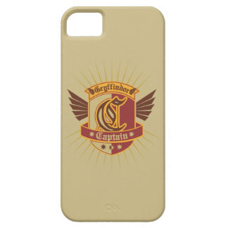 Coque Barely There iPhone 5 Capitaine Logo de Harry Potter   Gryffindor