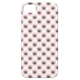 Coque Barely There iPhone 5 Cas humble de téléphone de ruche de bourdon