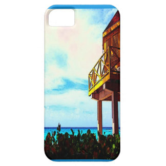 Coque Barely There iPhone 5 Chambre de plage