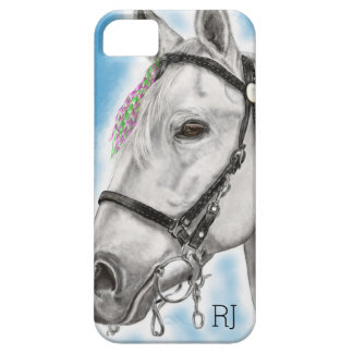 Coque Barely There iPhone 5 Cheval blanc