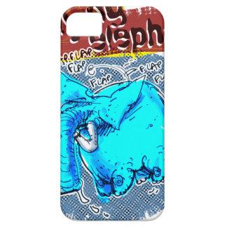 Coque Barely There iPhone 5 couleur d'éléphant de vol