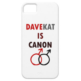 Coque Barely There iPhone 5 Davekat est Canon (v1)
