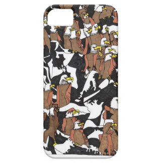 Coque Barely There iPhone 5 Débarquement d'Eagle