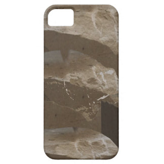 Coque Barely There iPhone 5 Décor spirituel 99 d'église de pierres de motif