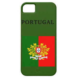Coque Barely There iPhone 5 DRAPEAU du PORTUGAL je téléphone le Se+ 5/5S, à