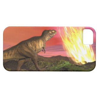 Coque Barely There iPhone 5 Extinction des dinosaures - 3D rendent
