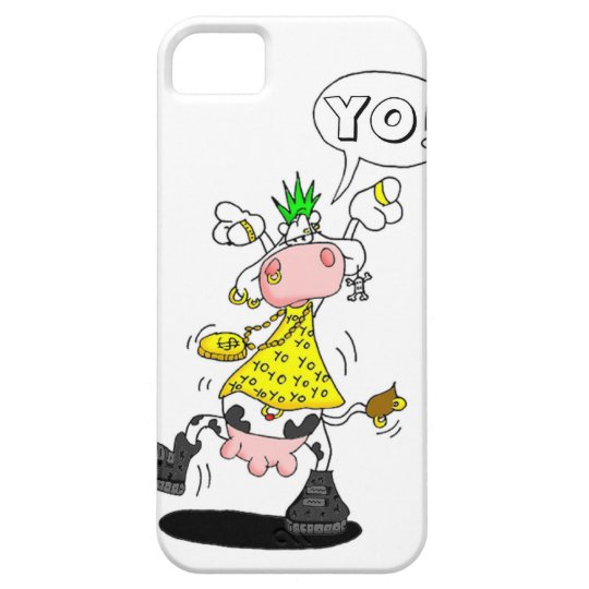 Coque Barely There iPhone 5 hull Casemate punk cow