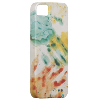 Coque Barely There iPhone 5 iPhone original coloré de Handprints 5 cas