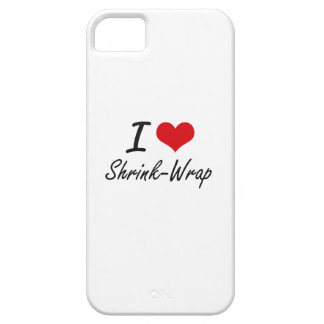 Coque Barely There iPhone 5 J'aime l'emballe sous film plastique