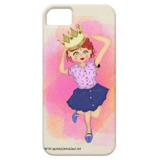 Coque Barely There iPhone 5 La reine de la maison - Couverture précieuse