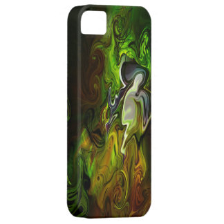 Coque Barely There iPhone 5 L'histoire abstraite 3
