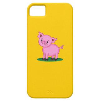 Coque Barely There iPhone 5 Petit cas mignon de l'iPhone 5 de porc