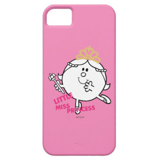Coque Barely There iPhone 5 Petit lettrage rose de Mlle le princesse |