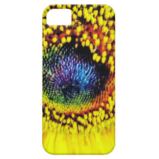 Coque Barely There iPhone 5 Plan rapproché jaune